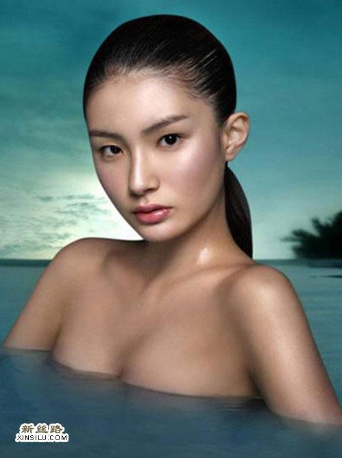 韩15岁女模特赤裸上身上节目惹争议
