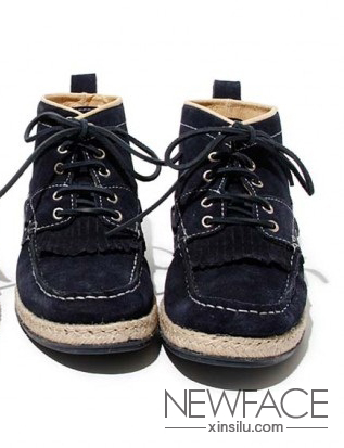 帆船 牛皮/浪人帆船鞋 hobo推出牛皮翻毛鞋