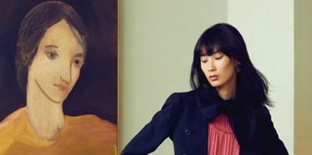 超模薛冬琪出镜《红秀GRAIA》11月刊