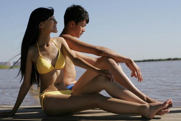 新面孔大赛,黑龙江赛区,性感模特,游艇,泳装秀