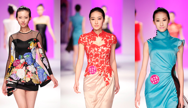 新面孔中国模特大赛华美礼服秀