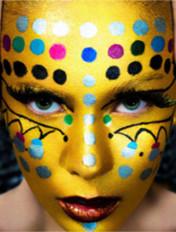 豹纹斑点妆容大集合