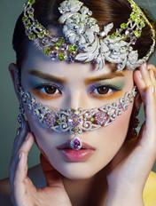彩金世界妆容展示