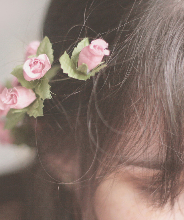 你是一个唯美的女孩