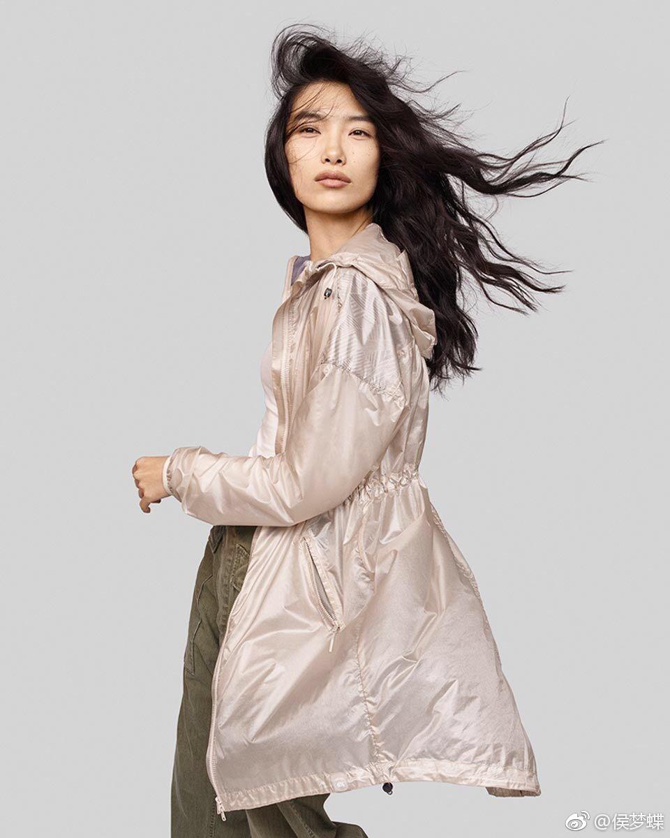 侯梦蝶CanadaGoose2017春夏广告