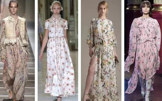 服装设计|2017春夏都流行哪些花型?